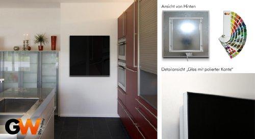 Infrarrojo-Calefacción infrarrojos 700W Vidrio
