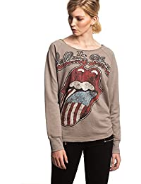 THE ROLLING STONES - USA LANGUE - FEMMES OFFICIEL PULL