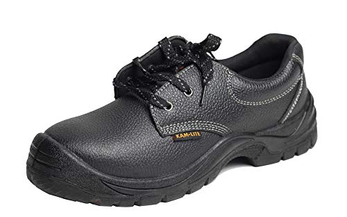 Confident Winter Safety Shoes Anti Puncture Anti Stab Oil Resistant Oil Acid Resistant Protective Shoes Safety Boots Men's Shoes Work & Safety Boots
