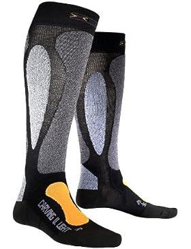 X-Socks Funktionssocke Ski Carving Ultra Light - Calcetines para mujer, color negro / naranja, talla DE: 45-47