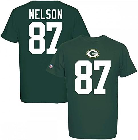 Majestic NFL JORDY NELSON  87 - - - verde BAY PACKERS Player T-Shirt, Größe XXL   Lasciare Che I Nostri Beni Vanno Al Mondo    Adatto per il colore    Prezzi Ridotti    Nuovo design  ed6516
