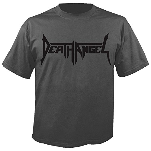 DEATH ANGEL - Logo - Charcoal - T-Shirt Größe M (T-shirt Angel Death)