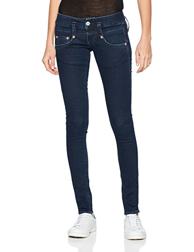 Herrlicher Damen Jeans Pitch Slim, Blau (True 700), W24/L32 (Herstellergröße: 24)