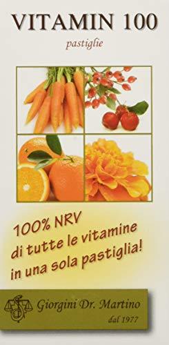 dr. giorgini integratore alimentare, vitamin 100 pastiglie - 30 g