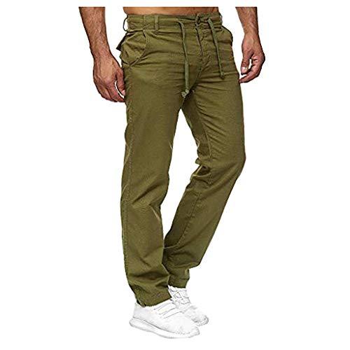 SANFASHION Jogger Cargo Herren Slim Fit Cargohose Jeans Fitness Sport Trekking Stretch Freitzeithose Streetwear Hosen -