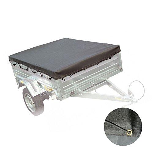 Preisvergleich Produktbild Abdeckung für Anhänger,  Schutzplane,  wasserdicht 200 x 120 x 7 cm - 2452
