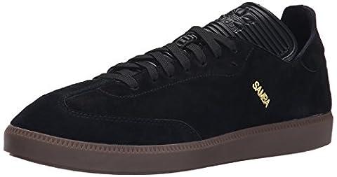 Adidas Performance Samba Mc Lthr Schuh, schwarz / schwarz / gold Metallic, 7 M Us, Black/Black/Gold Metallic, 41
