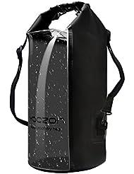 Wasserdichte Tasche,Yoozon Wasserdicht Outdoor Stausack/Aufbewahrungstasche/Trockentasche/Seesack für Bootfahren,Wandern,Camping,Angeln,Schwimmen,Snowboarding und andere Outdoor-Aktivitäten