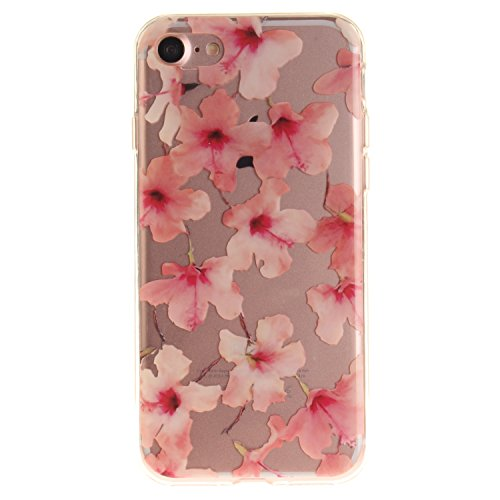 iPhone 7 Hülle,iPhone 7 Hülle Case,iPhone 7 Silikon Hülle [Kratzfeste, Scratch-Resistant], Cozy Hut iPhone 7 (4,7 Zoll) Hülle TPU Case Schutzhülle Silikon Crystal Kirstall Clear Case Durchsichtig, Far Winde