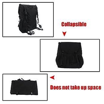 Travel Holder Bag, Hohe Kapazität Rucksack Cargo Satteltasche Reserverad Aufbewahrungstasche Für Wrangler Jk Yj Tj Suv 6