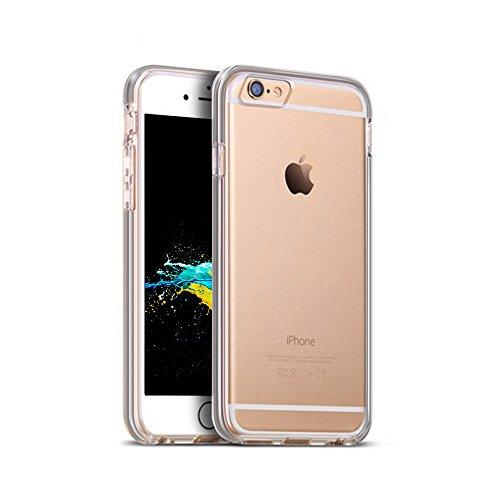 Caso del iphone 6s, palady Ultra Sottile Della Manica di autoscontro superiore trasparente per il iphone di Apple 6s (2015), iPhone 6(2014) spazio grigio