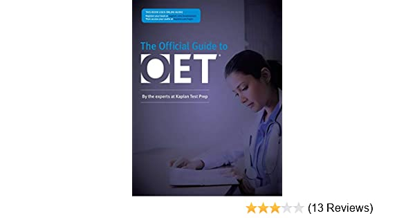 Buy Official Guide to OET (Kaplan the Official Guide to Oet