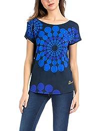 Amazon.es  Desigual - Camisetas 9c8a81b6a33