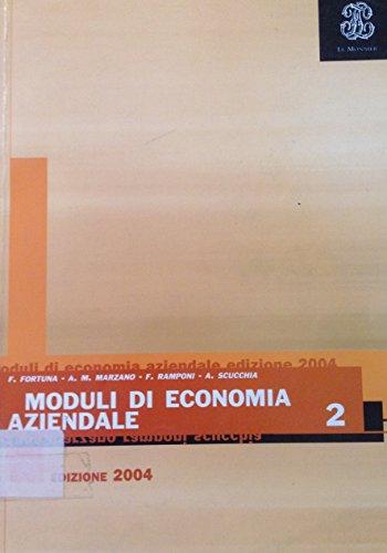 Moduli di economia aziendale. Per gli Ist. professionali: 2