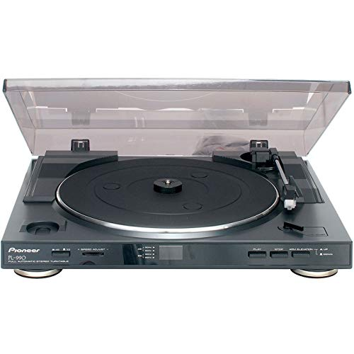 Pioneer PL-990, Giradischi stereo completamente automatico, Nero