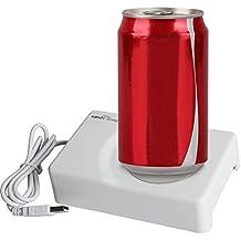 Sidiou Group Posavasos más cálidas USB cojín de la taza del vacío del USB mini refrigerador Refrigeración caliente y fría de Doble Uso Posavasos ordenador taza Dedicado temperatura de calentamiento USB Warmer