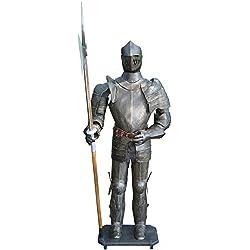 Armadura medieval caballeros 193cm