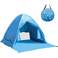 BestFire Outdoor Automatic Pop up Instant Portable Cabana Beach Tent Anti UV Canopy Sun Shade Sport Shelter Sun Shelter for Family Kids Baby Outdoor Camping Fishing Picnic Hiking