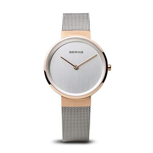 BERING Unisex-Armbanduhr Analog Quarz Edelstahl 14531-060