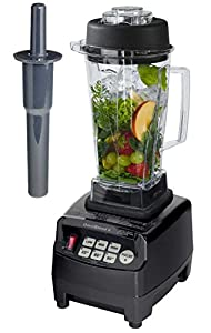 Profi Smoothie Maker Power Mixer Blender Icecrusher 2,0 l mit Edelstahlmesser...