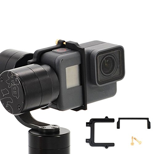 Preisvergleich Produktbild Zhuhaixmy Mount Adapter Stabilizer Platte Steckverbinder Montieren Sie den Adapterstabilisator für Zhiyun Z1 Evolution Gimbal Connects Gopro Hero 5