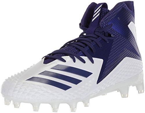 adidas Hombres Freak X Carbon Mid High Tops Schnuersenkel Fussball Sneaker Lila - Adidas Schuhe Football