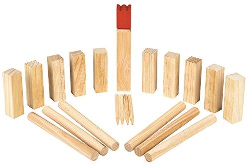 moses. Wooden Game Kubbs - Wikingerspiel | Geschicklichkeitsspiel | Aus Holz