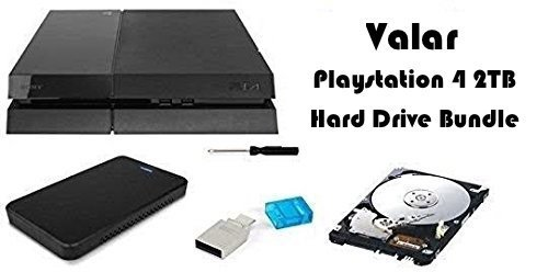 Valar DIY 2000GB Festplatte Upgrade Bundle für Playstation 4