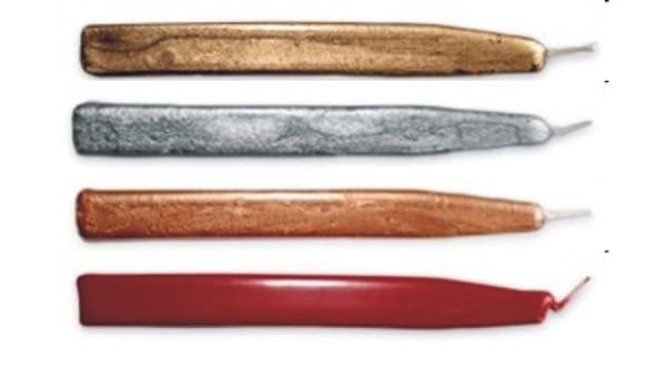 Metallic Gold Waterstons Scottish Sealing Wax with wick four Sticks