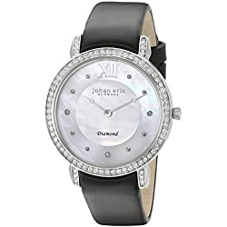 Johan Eric Damen je7000-04-009.11Ribe Analog Display Quartz Black Watch