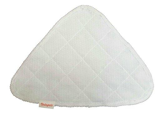 2x microfibra cuscinetti corallo bianco per Vileda 100Hot spray e Steam mop replacement Pads by Unispair