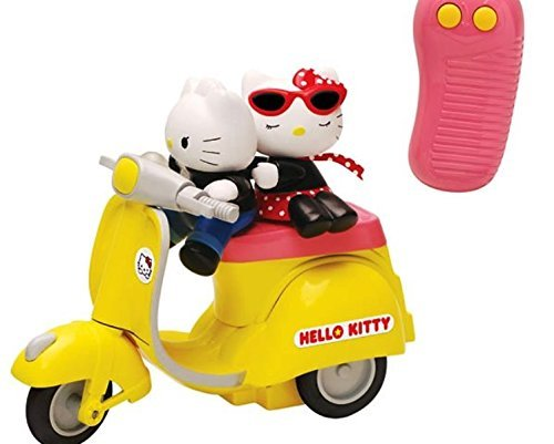 HELLO KITTY REMOTE CONTOL SCOOTER with KITTY & DANIEL by Toho