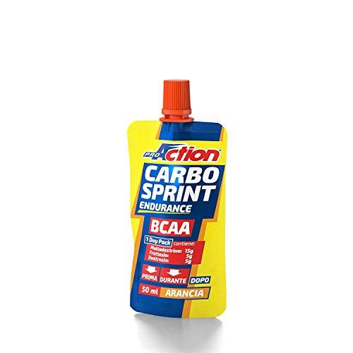 Proaction carbo sprint bcaa (arancia, 1 doypack da 50 ml)