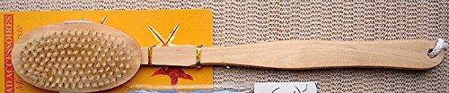 Holz Badebürste 42cm Massagebürste oval 40767 elina med