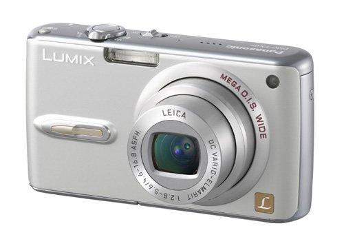 Panasonic Lumix DMC-FX 07 EG S Digitalkamera (7 Megapixel) silber (Auto-lautsprecher Panasonic)
