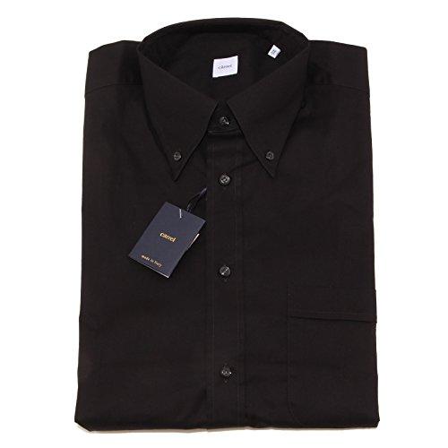 2621p camicia manica corta nera carrel camicie uomo shirt men [42]