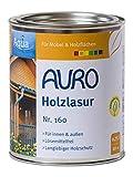 AURO Holzlasur Aqua Nr. 160-74 Grau, 0,75 Liter