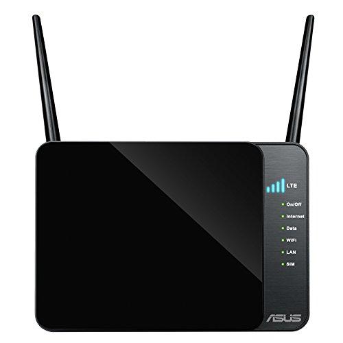 Asus 4G-N12 N300 LTE WLAN-Router (Wi-Fi 802.11 b/g/n, SIM Slot, LTE bis zu 100 Mbit/s)