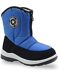 606439490 Botas para la Nieve de Invierno para niños y niñas Botas Unisex para niños  pequeñas de