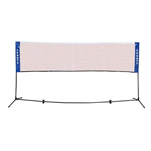 Höhenverstellbar Badmintonnetz Minibadmintonnetz Tennisnetz für Federball und Tennis XL XXL Test