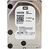 Western Digital Caviar Blue Desktop Disque Dur Interne 3,5' SATA 6 GB/s - recertified, Capacité:500Go, Cache/RPM:16MB. 7.200RPM