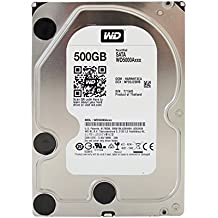 Western Digital Caviar Blue Desktop Disque Dur Interne 3,5' SATA 6 GB/s - Capacit:500Go, Cache/RPM:16MB. 7.200RPM (Reconditionn Certifi)