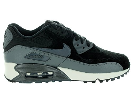 Nike Wmns Air Max 90 Lthr, Chaussures de Sport Femme schwarz