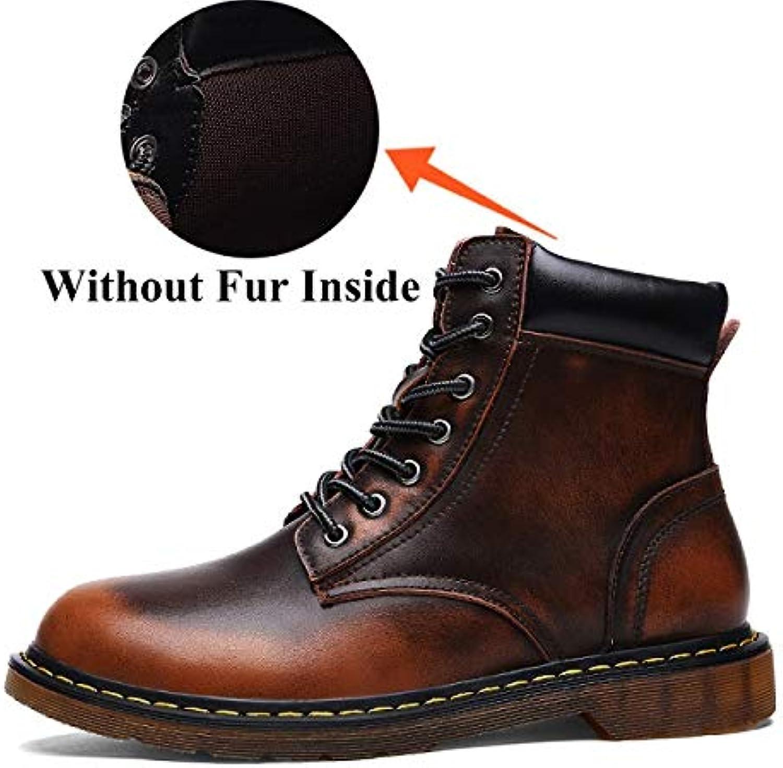 FHCGMX Nuovo Inverno Caldo Moda Martin Stivali Stivali Stivali Uomo per  Uomo Scarpe Adulti Casual Comfort b186b4a4886