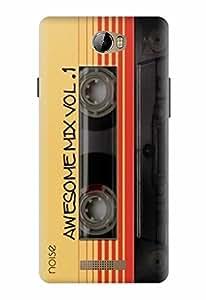 Noise Designer Printed Case / Cover for Karbonn Aura / Patterns & Ethnic / Awesome Mix Cassette Design