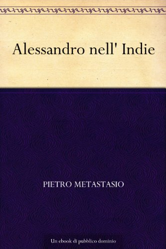 Alessandro nell' Indie