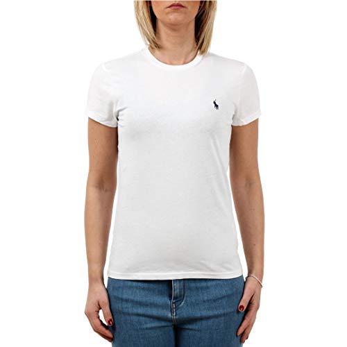 Polo Ralph Lauren Maglietta a Girocollo in Cotone Donna MOD. 211734144 XS