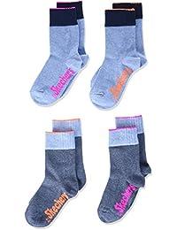 Skechers Socks, Calcetines Deportivos para Niñas