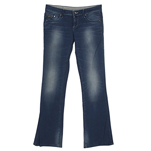 G-STAR RAW G-Star, Midge Bootleg, Damen Jeans Hose, Stretchdenim, blue used, W 30 L 36 [20035]