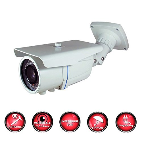 Kit-videovigilancia-4-Cmaras-tubos-Pro-Full-AHD-1080P-Sony-24-MP–2000-GB-incluye-3-Cable-de-40-M-1-x-20-m-sin-pantalla